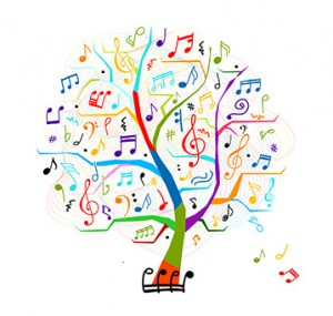 Colorful Music Tree 2